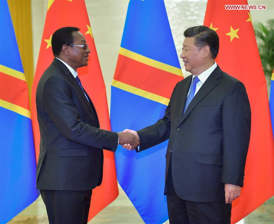 CHINA-BEIJING-XI JINPING-DR CONGO'S PM-MEETING (CN)
