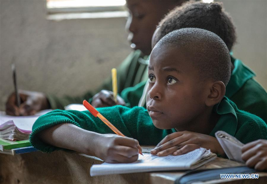 KENYA-NAIROBI-MATHARE SLUMS-INTERNATIONAL LITERACY DAY