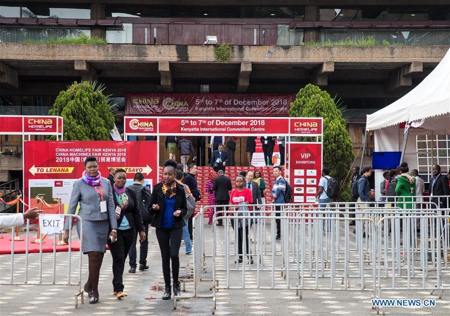 KENYA-NAIROBI-CHINA-BUSINESS-EXHIBITION