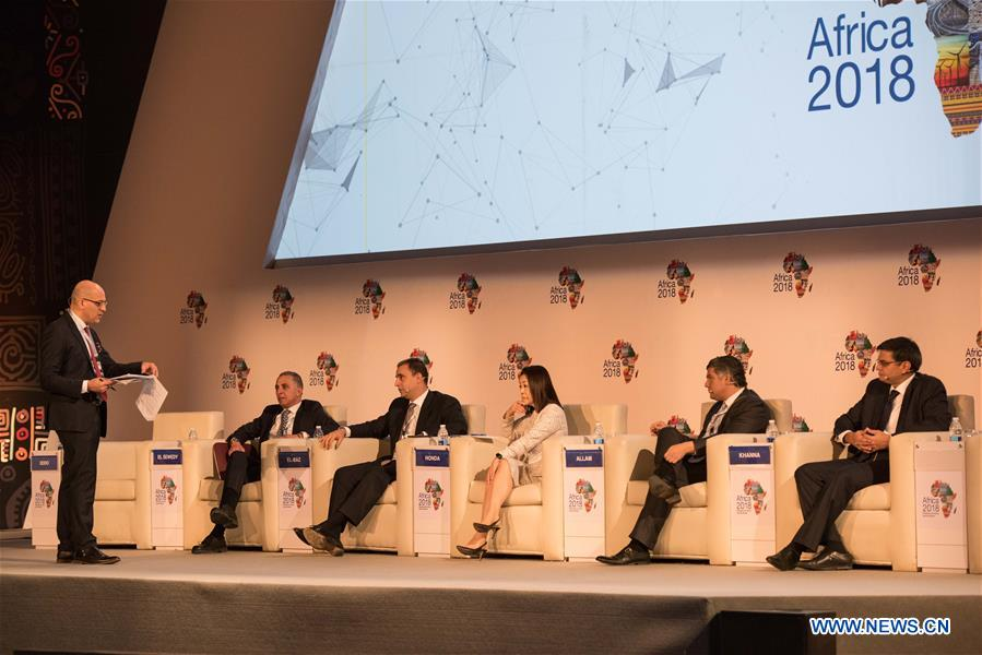 Africa 2018 Forum held in Sharm el-Sheikh, Egypt - Xinhua