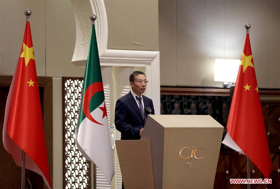 ALGERIA-ALGIERS-CHINA-DIPLOMATIC RELATIONS-60TH ANNIVERSARY