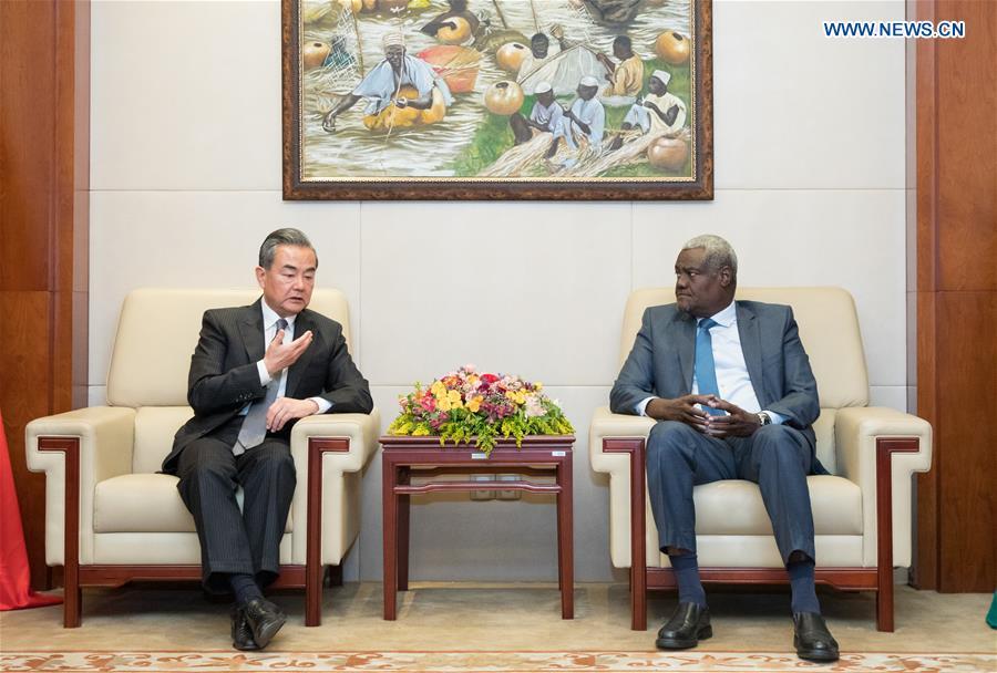 ETHIOPIA-ADDIS ABABA-CHINA-WANG YI-AU COMMISSION CHIEF-TALKS