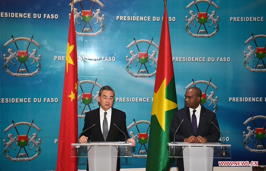 BURKINA FASO-OUAGADOUGOU-CHINA-FMS-PRESS