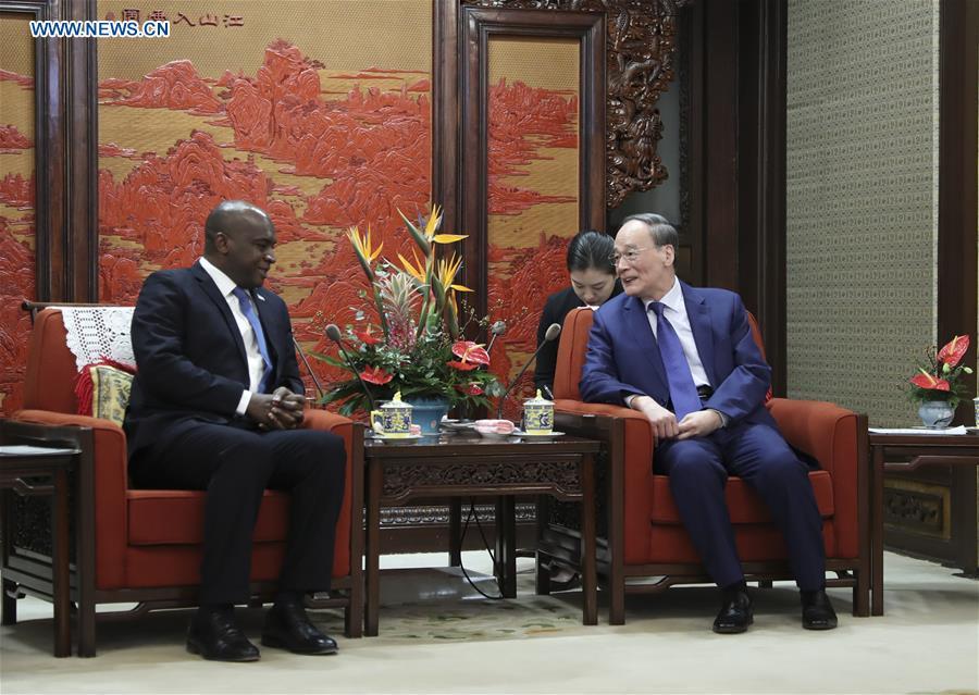 CHINA-BEIJING-WANG QISHAN-SIERRA LEONE FM-MEETING (CN)