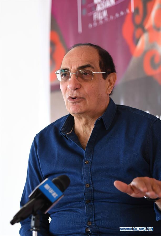 EGYPT-SHARM EL-SHEIKH-ASIAN FILM FESTIVAL-PRESIDENT-INTERVIEW