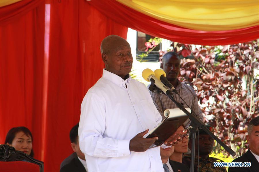 UGANDA-MUKONO-PRESIDENT-CHINESE INVESTMENT