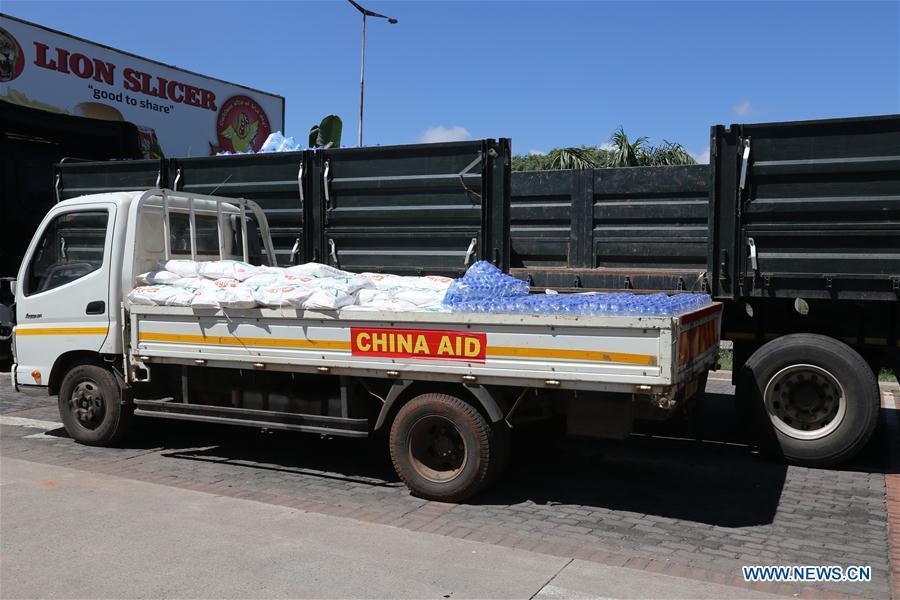 ZIMBABWE-HARARE-CHINA-DONATION