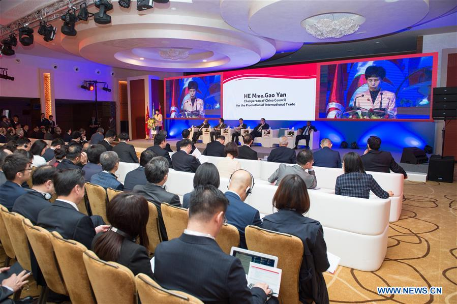 Entrepreneurs from China, Arab countries discuss win-win