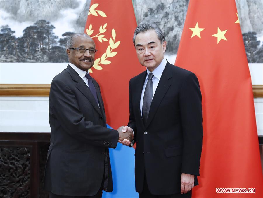 CHINA-BEIJING-WANG YI-ERITREA-TALKS (CN)