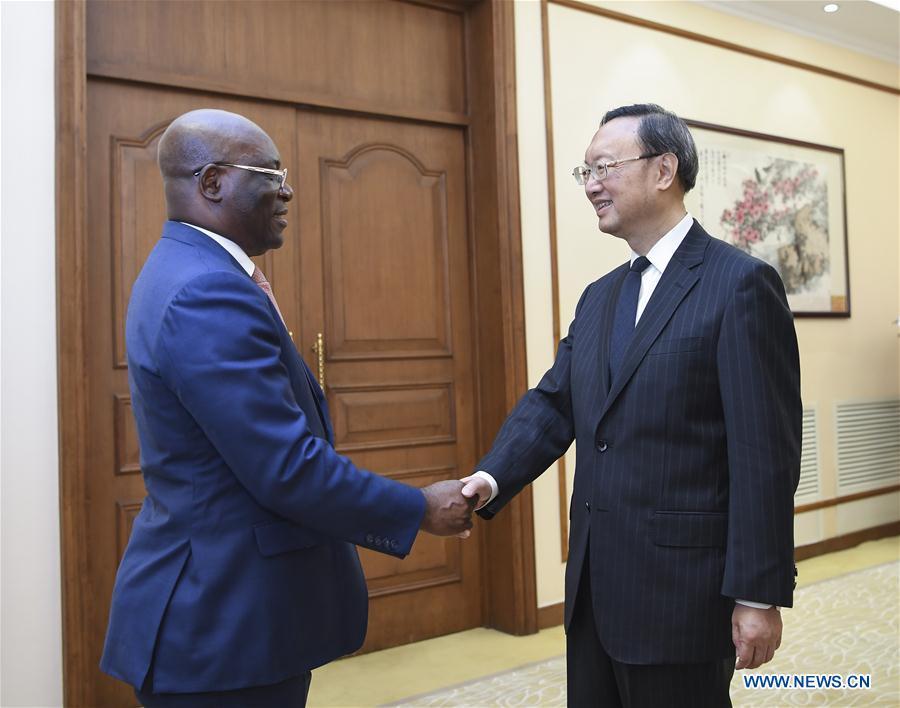 CHINA-BEIJING-YANG JIECHI-EQUATORIAL GUINEA'S FM-MEETING (CN)