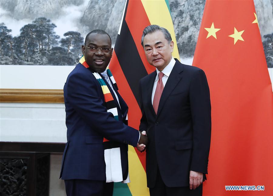 CHINA-BEIJING-WANG YI-ZIMBABWE'S FM-MEETING (CN)