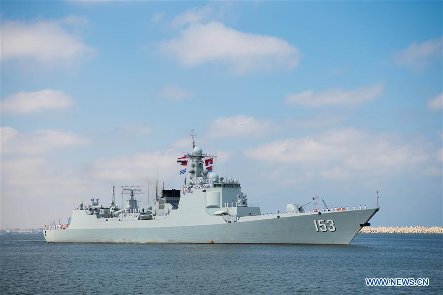 "EGYPT-ALEXANDRIA-CHINESE MISSILE DESTROYER ""XI"