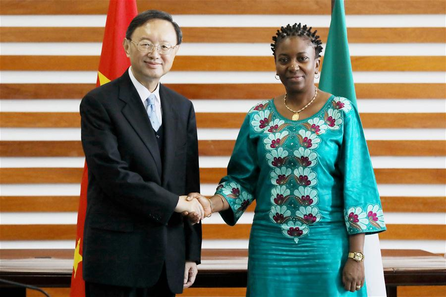 SIERRA LEONE-FREETOWN-NABEELA TUNIS-CHINA-YANG JIECHI-MEETING