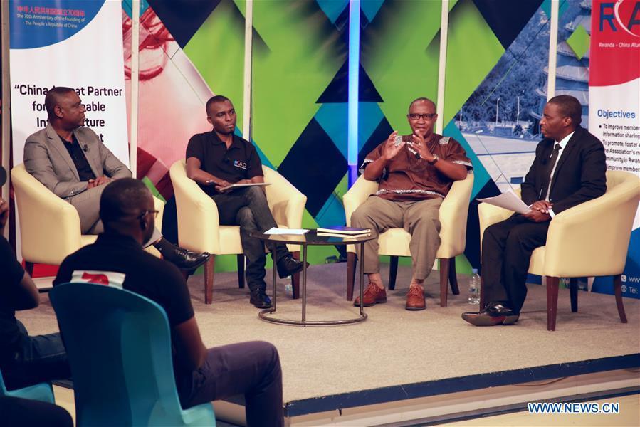 RWANDA-KIGALI-PRC-FOUNDING-ANNIVERSARY-CELEBRATION-TALK SHOW