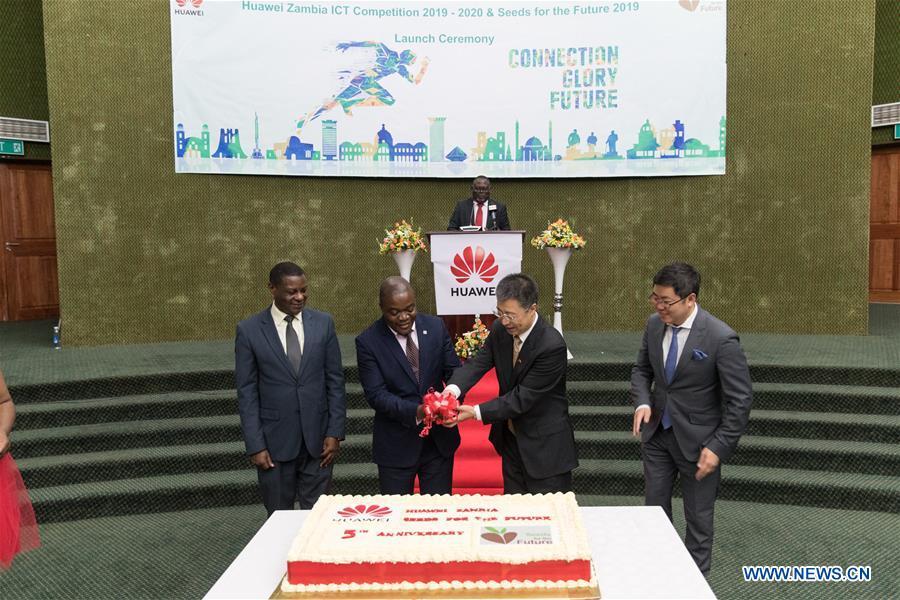 ZAMBIA-LUSAKA-CHINA-HUAWEI-ICT COMPETITION