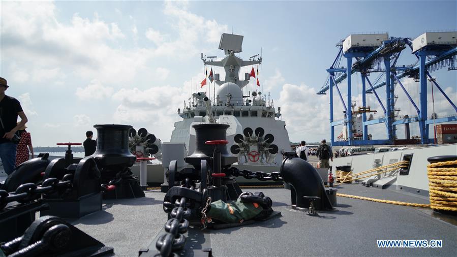 KENYA-MOMBASA-CHINA-NAVY-SHIP-DOCKING