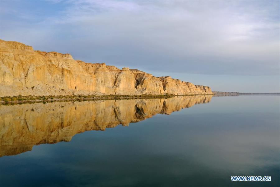CHINA-XINJIANG-ALTAY-ULUNGGUR LAKE-SCENERY (CN)