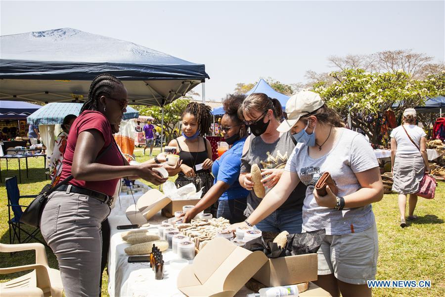 ZAMBIA-LUSAKA-FOOD MARKET