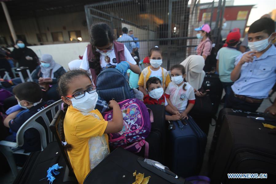 MIDEAST-GAZA-RAFAH BORDER CROSSING-REOPENING