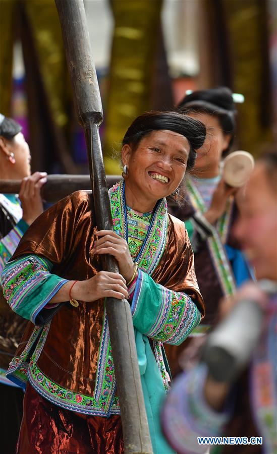 CHINA-GUANGXI-MIAO ETHNIC GROUP-HANDICRAFT-CLOTH (CN)