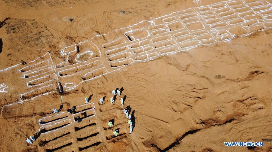 LIBYA-TARHUNA-MASS GRAVES