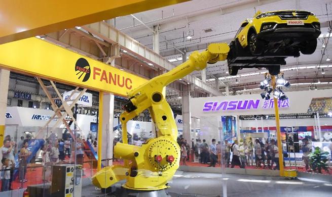 World Robot Conference 2018 kicks off in Beijing