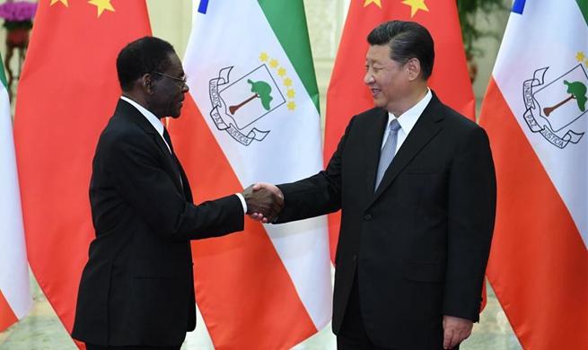 Xi meets Equatorial Guinea president