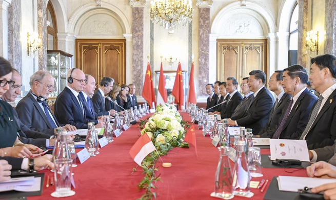 Xi holds talks with Prince Albert II on strengthening China-Monaco ties