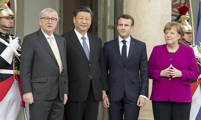 Xi meets European leaders on advancing ties, global governance