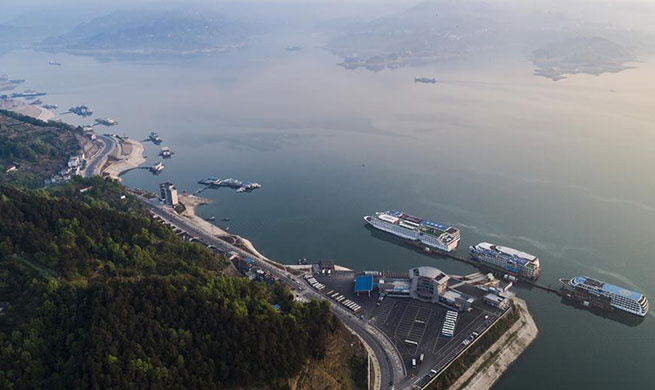 Total outflow of Three Gorges Reservoir reaches 10 billion cubic meters in first quarter of 2019