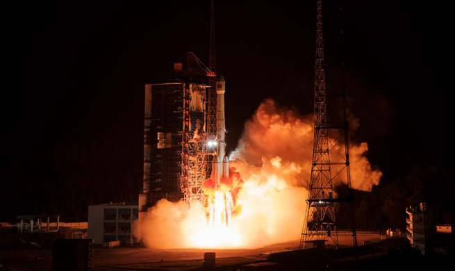 China launches new communication technology experiment satellite