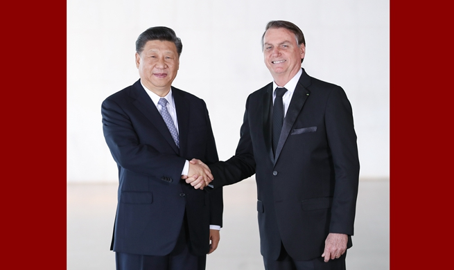 China ready to achieve common prosperity with Brazil: Xi