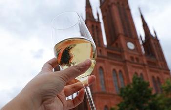 43rd Rheingau Wine Festival held in Wiesbaden, Germany
