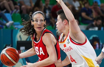 China loses to U.S. at 2018 FIBA Women's Basketball World Cup