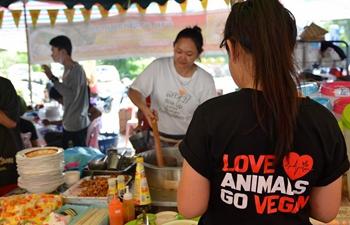 Vegan Food Festival held in Vientiane, Laos