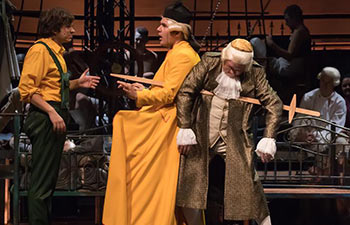 In pics: dress rehearsal of the Candide by Leonard Bernstein in Budapest
