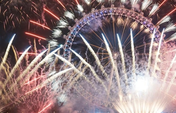 In pics: London New Year's Eve fireworks