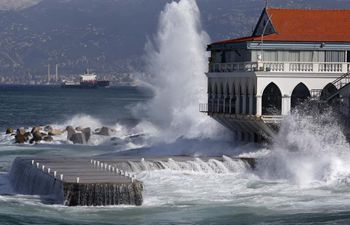 In pics: Lebanon hit by severe storm