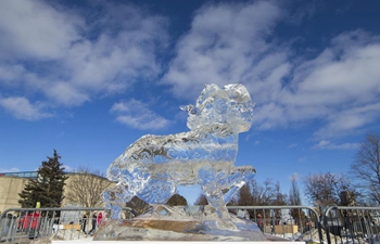 2019 Markham Ice and Snow Festival kicks off in Ontario, Canada
