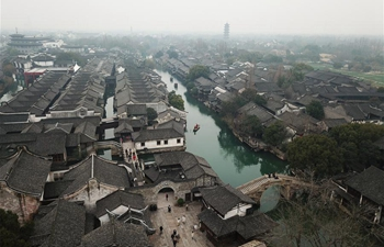 Scenery in Wuzhen, east China's Zhejiang
