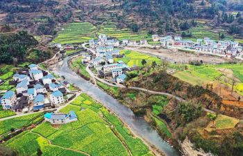 Spring scenery of southwest China's Guizhou