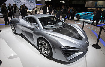 Electric, hybrid cars highlight at Geneva Int'l Motor Show