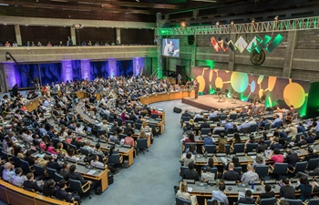 In pics: opening ceremony of 2nd global session of UN Science-Policy-Business Forum