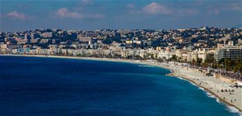 Scenery of Nice in France
