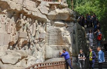 In pics: Dazu Rock Carvings scenic area in Chongqing, SW China