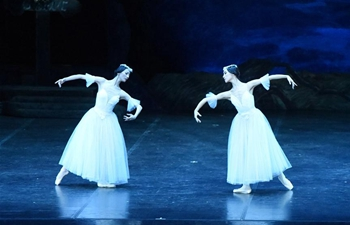 Performances by China Central Ballet staged in Lisbon, Portugal