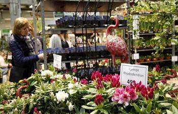 Oslo Garden Show held in Lillestrom, Norway