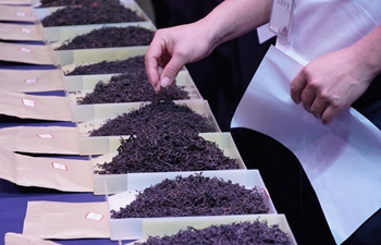Tea contest held in Nanning, S China's Guangxi