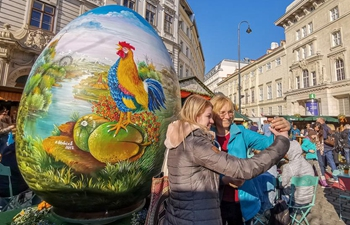 In pics: traditionalViennese Easter Market in Austria