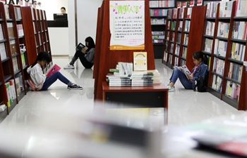 People enjoy reading across China
